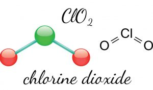 Molècula del Diòxid de Clor